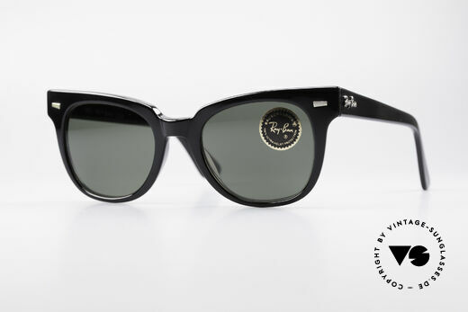 Ray Ban Meteor Alte 80er USA Sonnenbrille Details