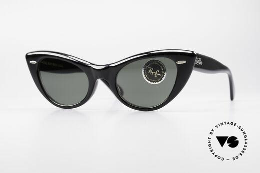 3e0fc75fb2 Ray Ban Lisbon B L USA Cateye Sonnenbrille Details