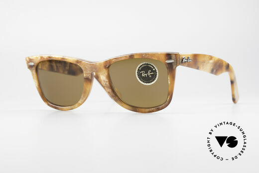 Ray Ban Wayfarer I Limited Edition Blond Frost Details