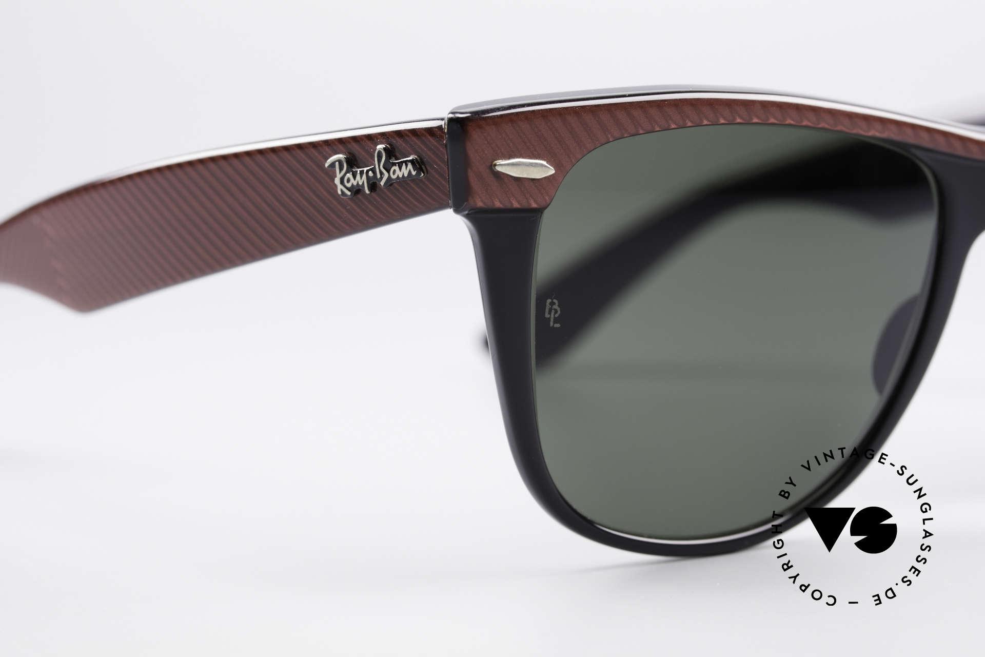 Ray Ban Wayfarer II Original USA Wayfarer B&L, KEINE retro Sonnenbrille, 100% vintage Original, Passend für Herren und Damen