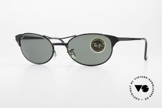 Ray Ban Signet Oval Alte B&L USA 80er Sonnenbrille Details