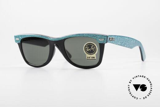 Ray Ban Wayfarer I B&L USA Sonnenbrille 80er Details