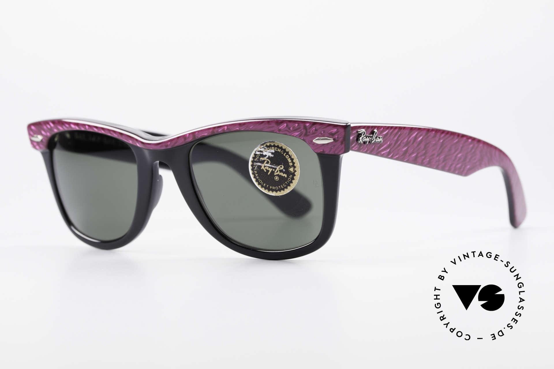 Ray Ban Wayfarer I 80er Sonnenbrille B&L USA, heute so oft kopiert und nie erreicht - (B&L USA), Passend für Damen