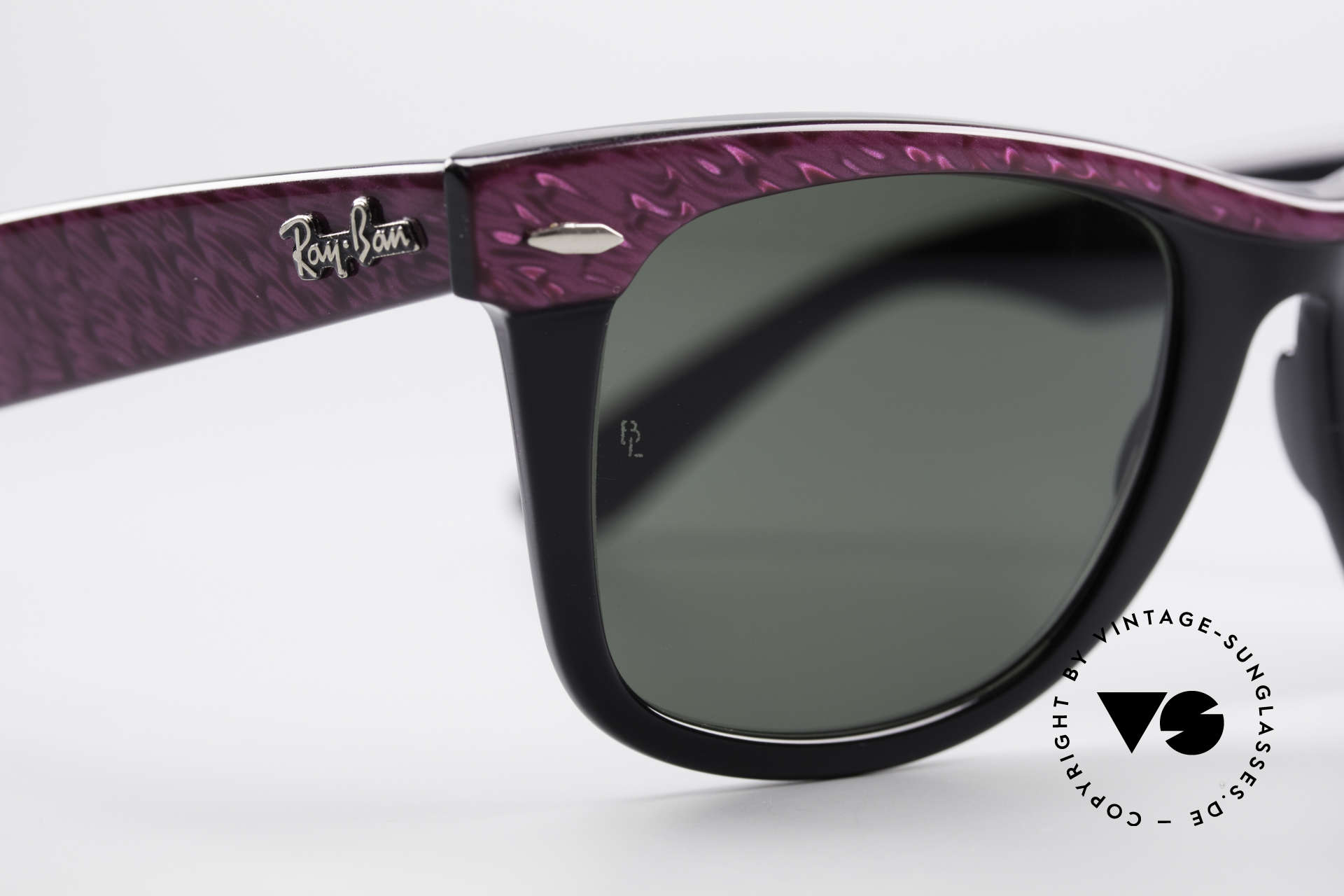 Ray Ban Wayfarer I 80er Sonnenbrille B&L USA, ungetragene Rarität; inzwischen ein Sammlerstück, Passend für Damen
