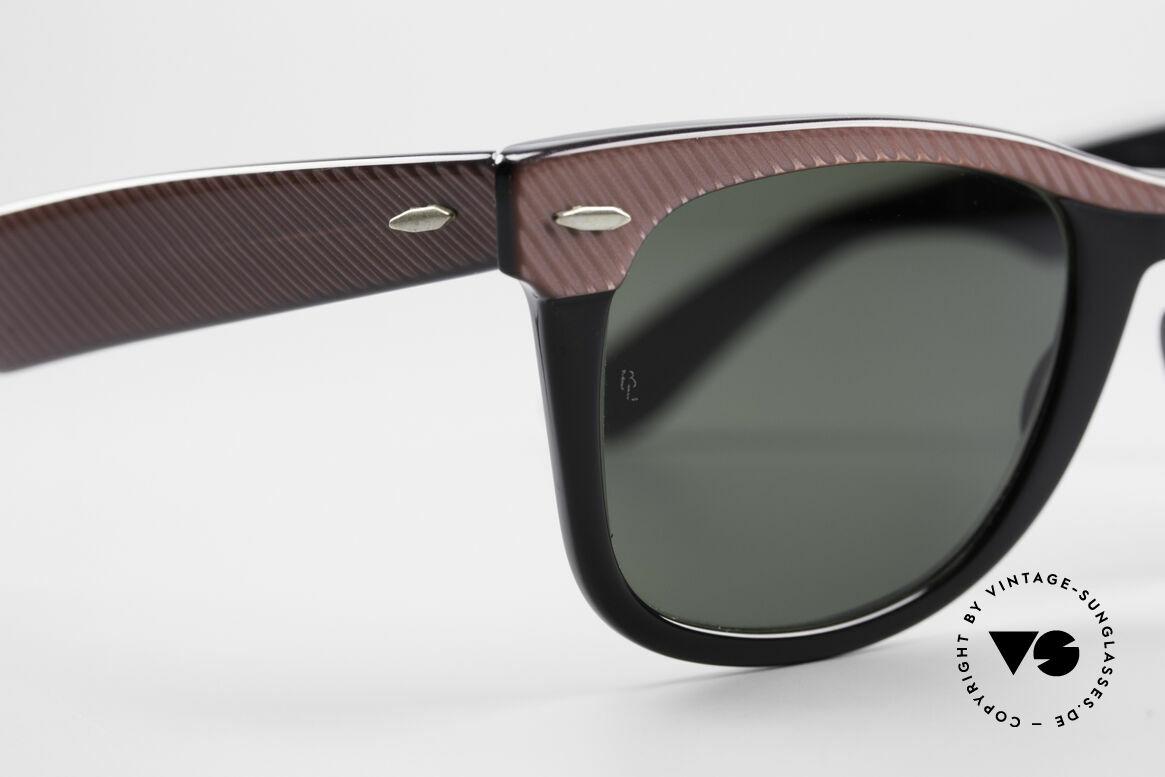 Ray Ban Wayfarer I Original B&L Wayfarer USA, KEINE retro Sonnenbrille, 100% vintage Original, Passend für Damen