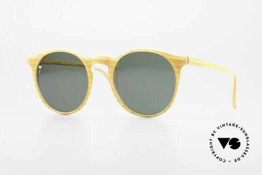 Alain Mikli 034 / 210 Designer Panto Sonnenbrille Details
