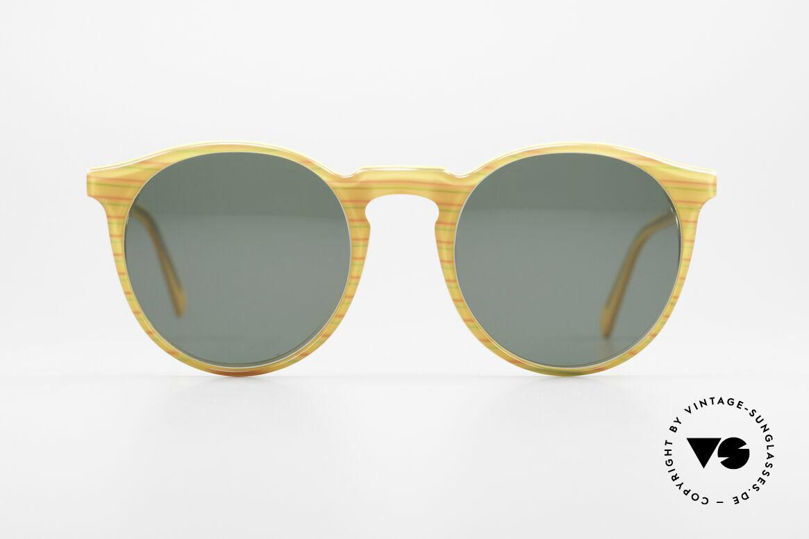 Alain Mikli 034 / 210 Designer Panto Sonnenbrille, mehr 'klassisch' geht nicht (bekannte Panto-Form), Passend für Herren und Damen