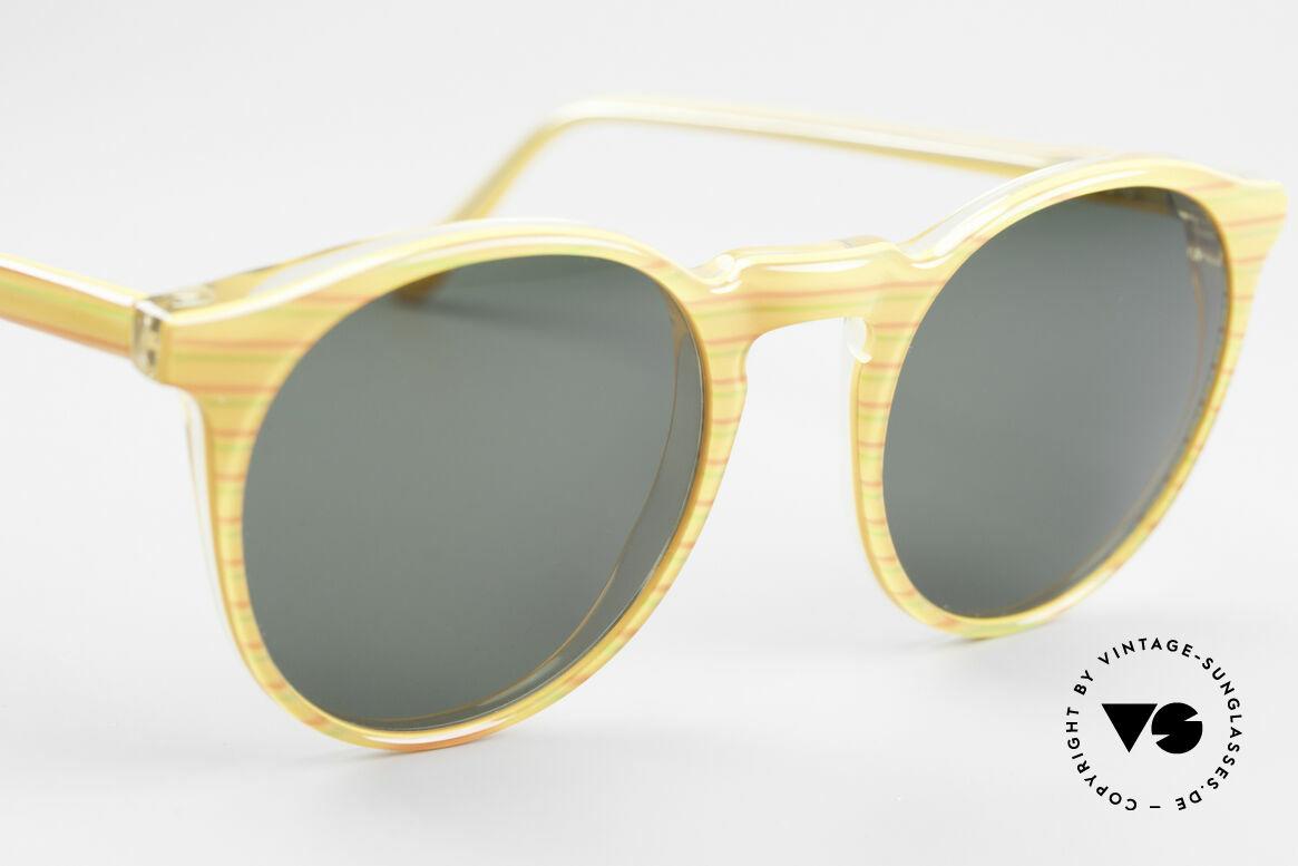 Alain Mikli 034 / 210 Designer Panto Sonnenbrille, ungetragen (wie alle unsere 1980er vintage Brillen), Passend für Herren und Damen