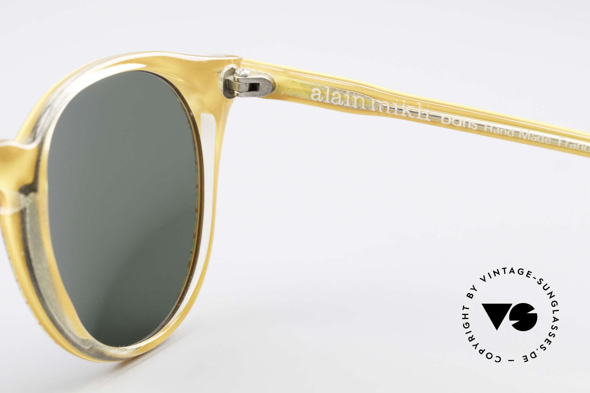 Alain Mikli 034 / 210 Designer Panto Sonnenbrille, KEINE Retromode, sondern ein altes Mikli-Original, Passend für Herren und Damen