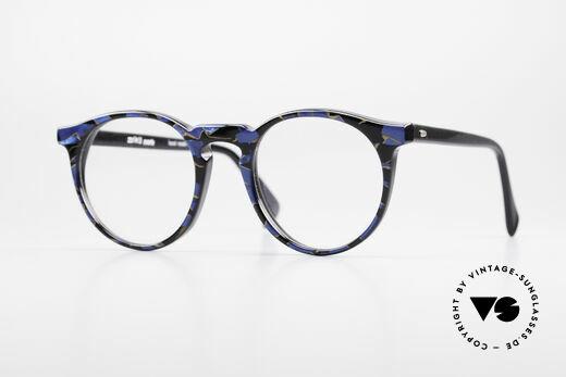 Alain Mikli 034 / 509 Vintage Designer Panto Brille Details