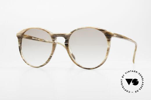 Alain Mikli 901 / 153 Horn Optik Panto Sonnenbrille Details