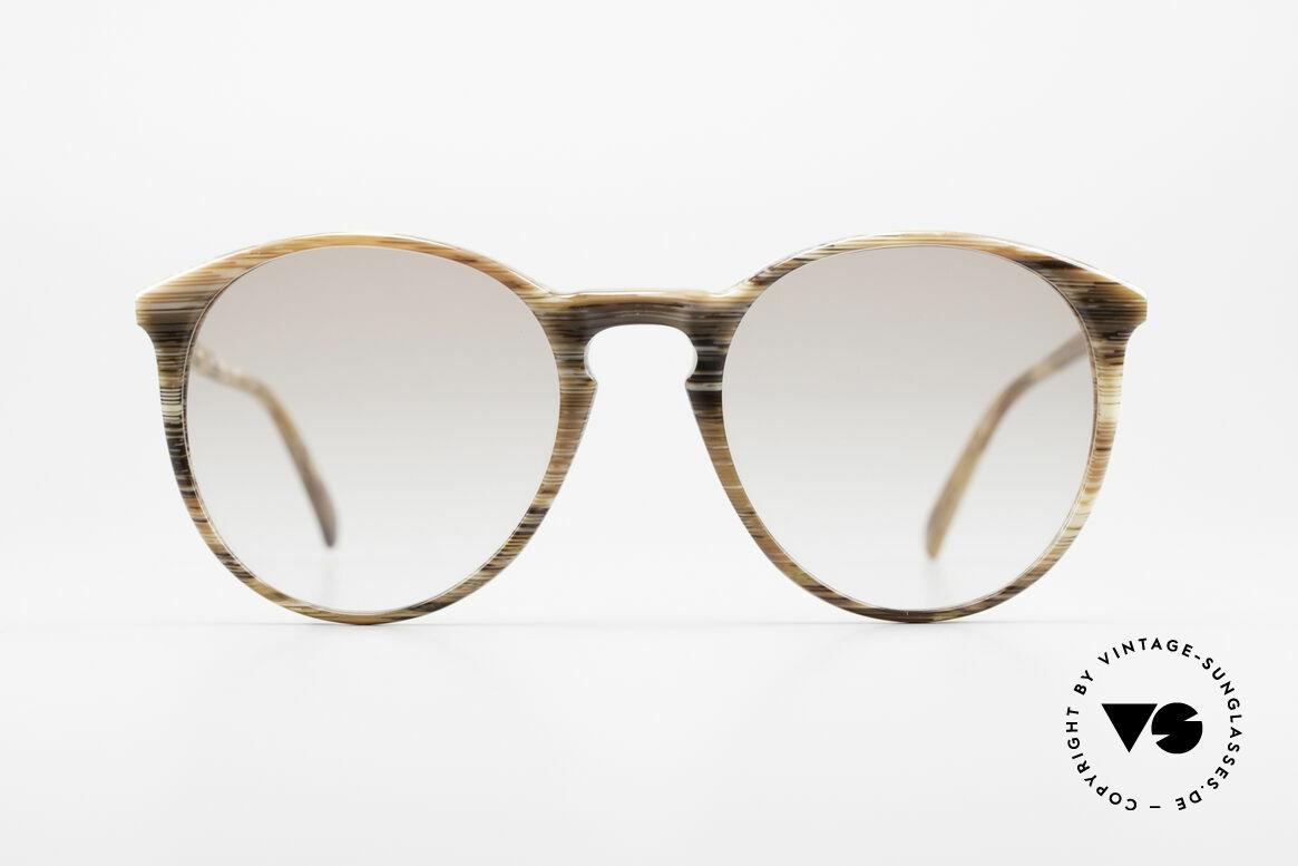 Alain Mikli 901 / 153 Horn Optik Panto Sonnenbrille