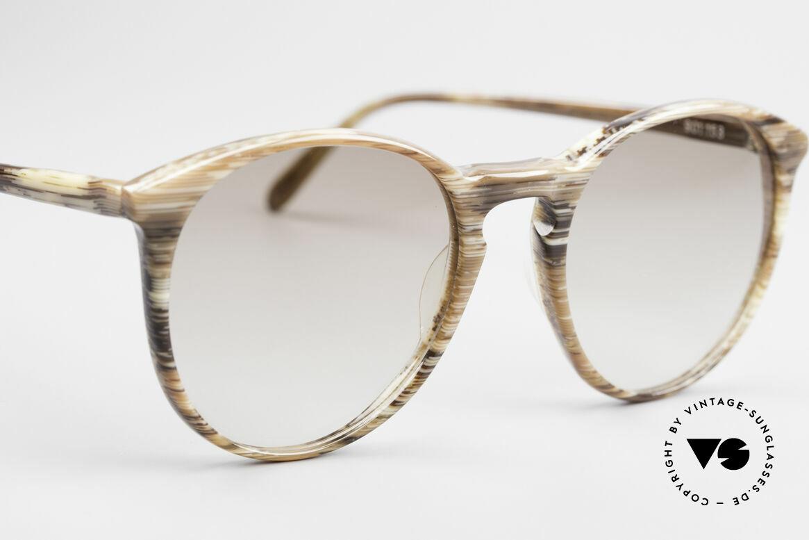 Alain Mikli 901 / 153 Horn Optik Panto Sonnenbrille, ungetragen (wie alle unsere 1980er vintage Brillen), Passend für Herren und Damen
