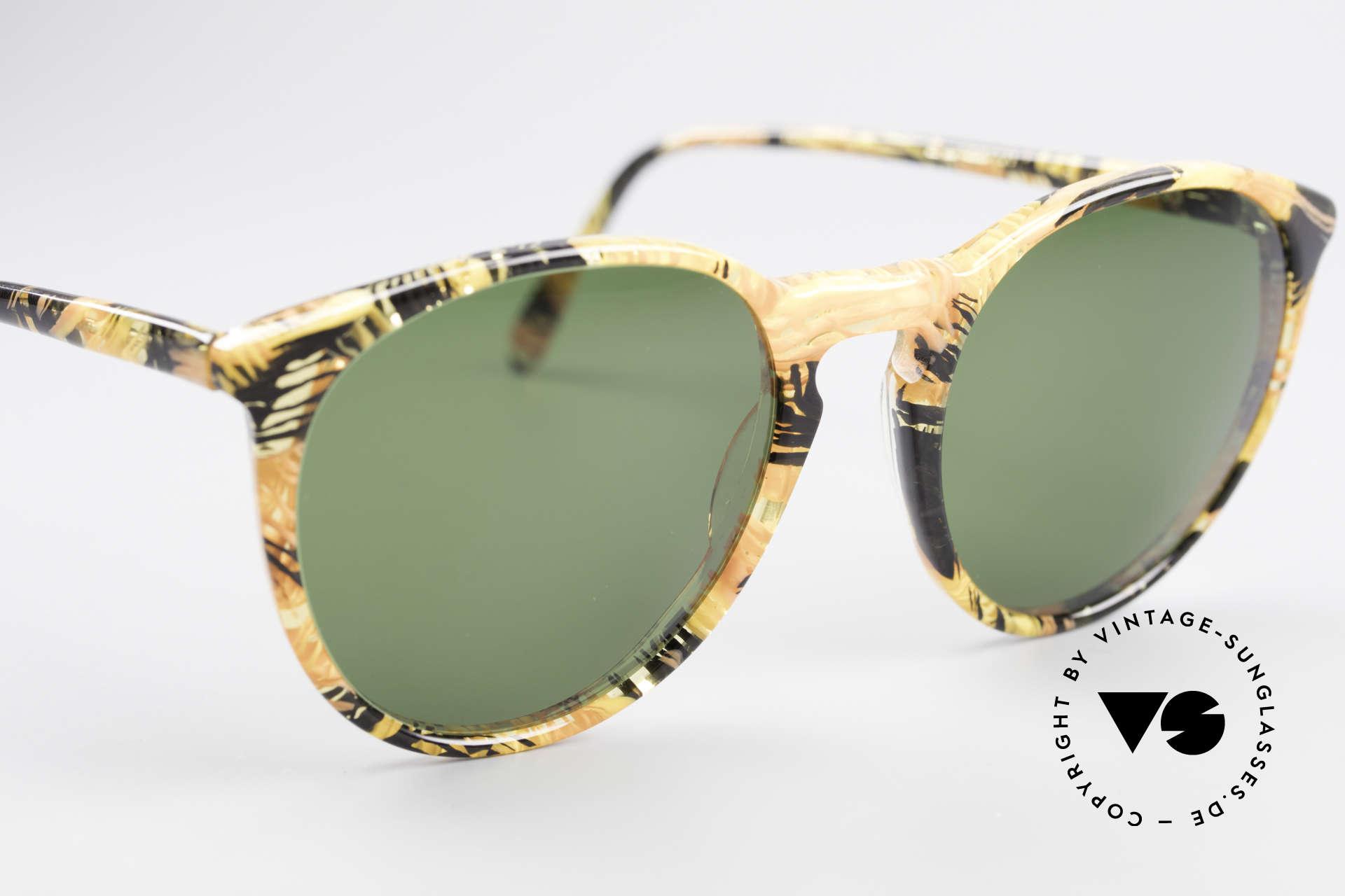 Alain Mikli 901 / 393 Bernstein Optik Panto Brille, ungetragen (wie alle unsere 1980er vintage Brillen), Passend für Herren und Damen