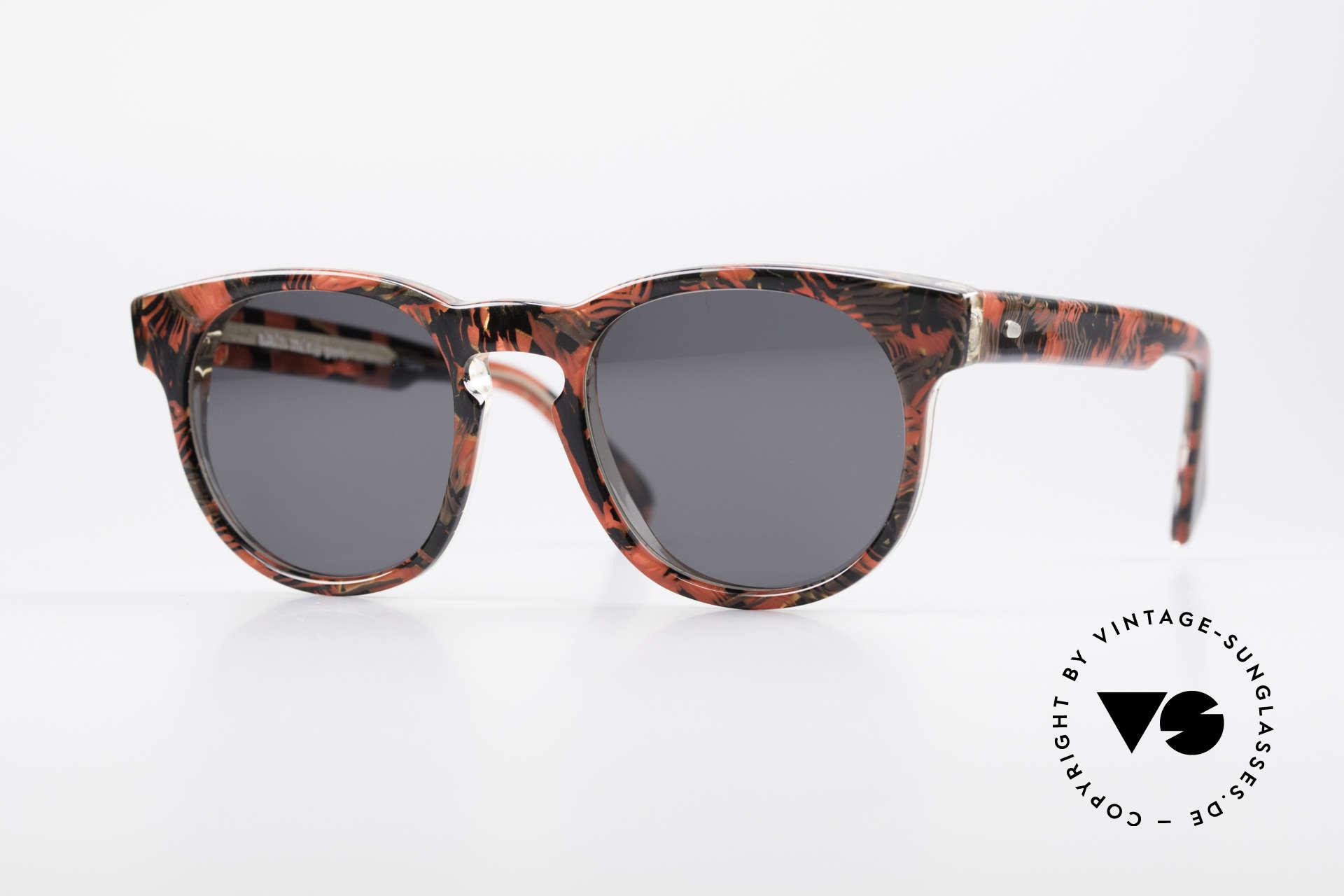 Alain Mikli 903 / 687 80er Panto Sonnenbrille Small, zeitlose ALAIN MIKLI Paris Designer-Sonnenbrille, Passend für Herren und Damen