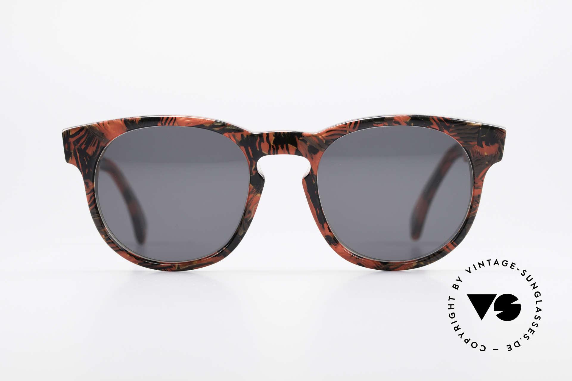 Alain Mikli 903 / 687 80er Panto Sonnenbrille Small, mehr 'klassisch' geht nicht (bekannte Panto-Form), Passend für Herren und Damen