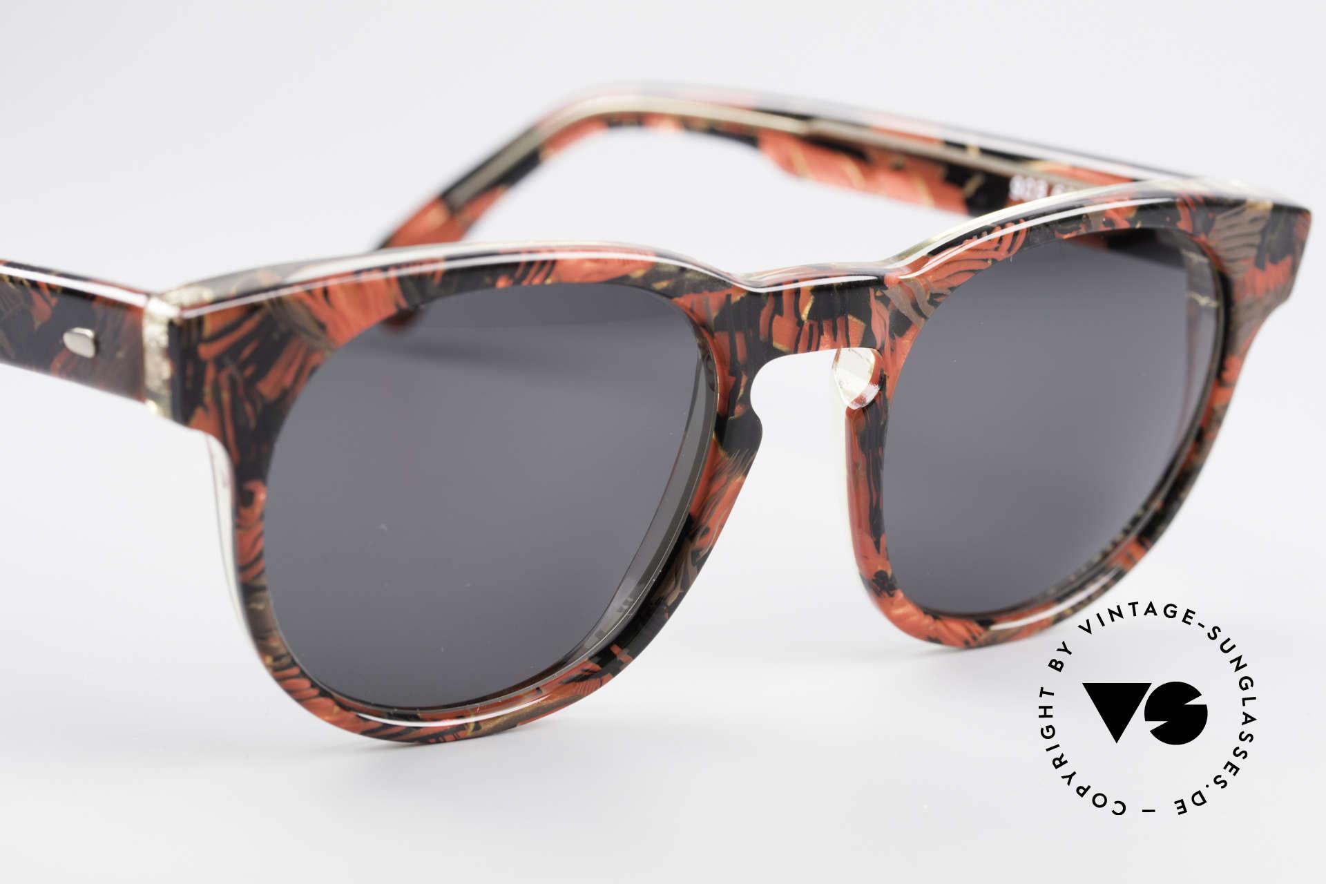 Alain Mikli 903 / 687 80er Panto Sonnenbrille Small, ungetragen (wie alle unsere 1980er vintage Brillen), Passend für Herren und Damen