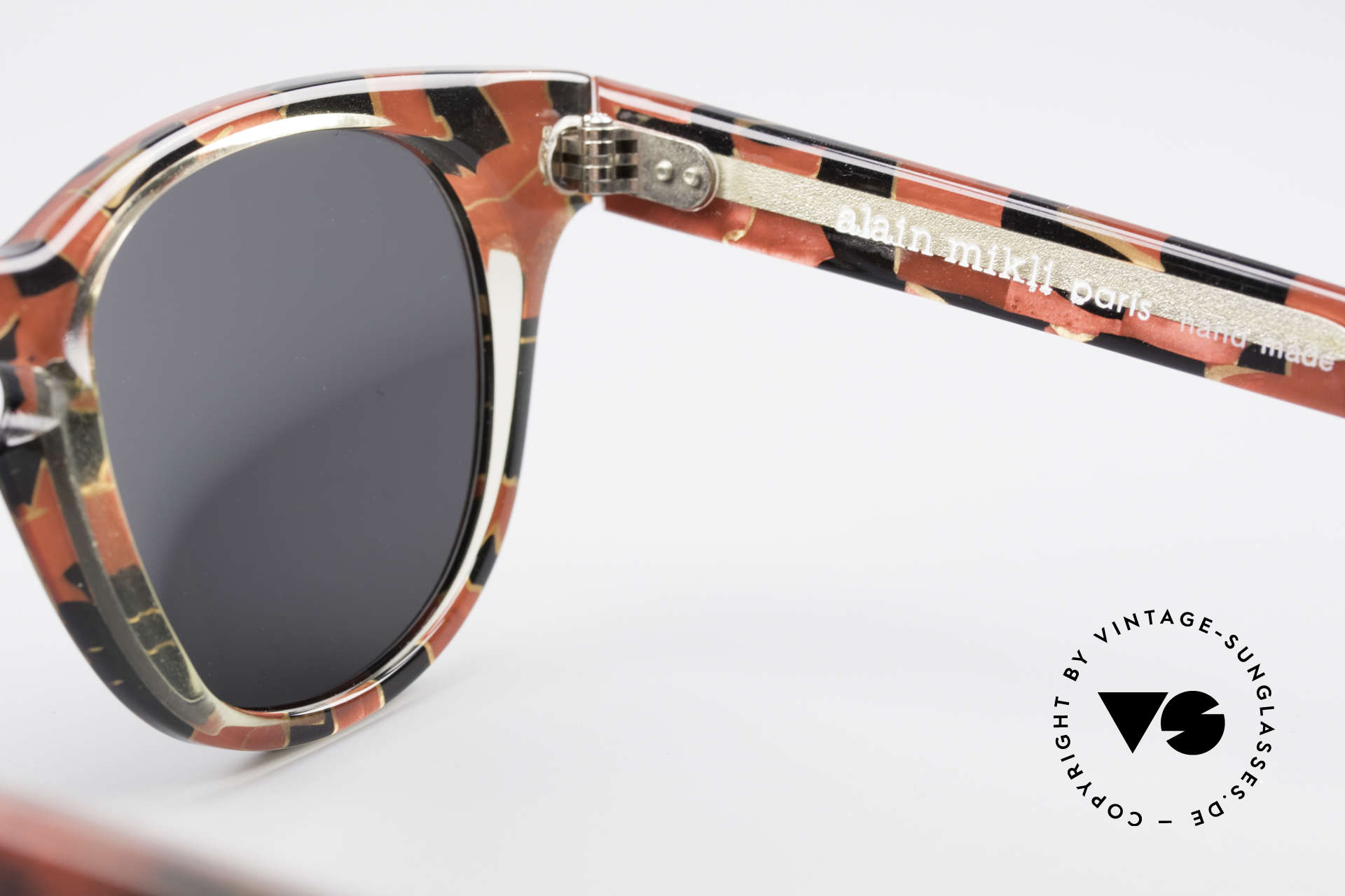 Alain Mikli 903 / 687 80er Panto Sonnenbrille Small, KEINE Retromode, sondern ein altes Mikli-Original, Passend für Herren und Damen