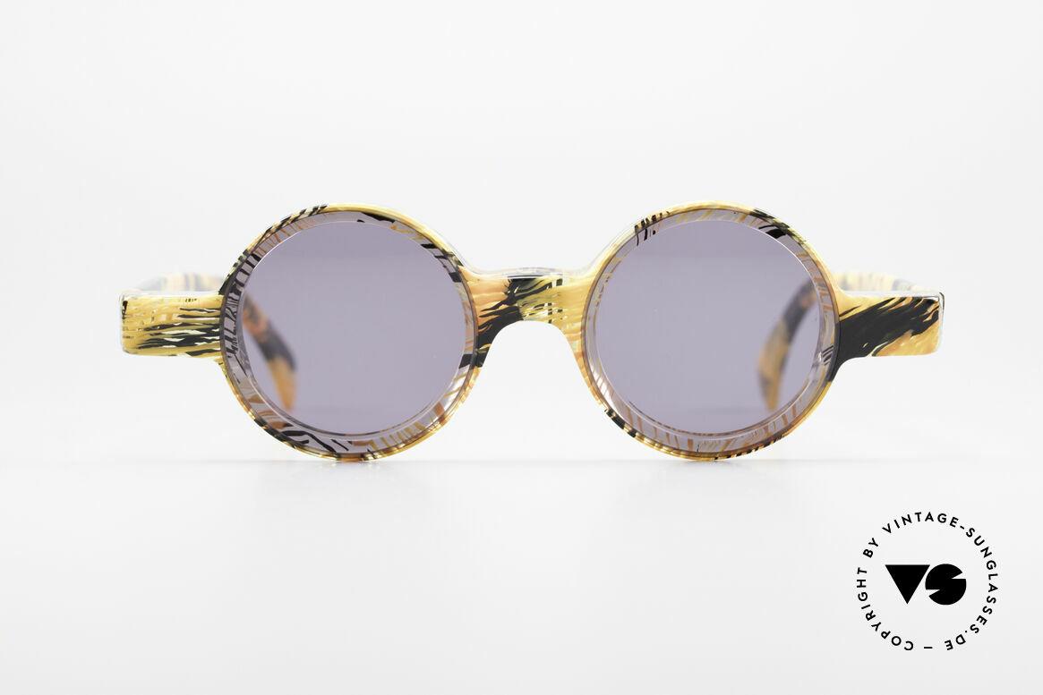 Alain Mikli 0150 / 393 Runde Designer Sonnenbrille