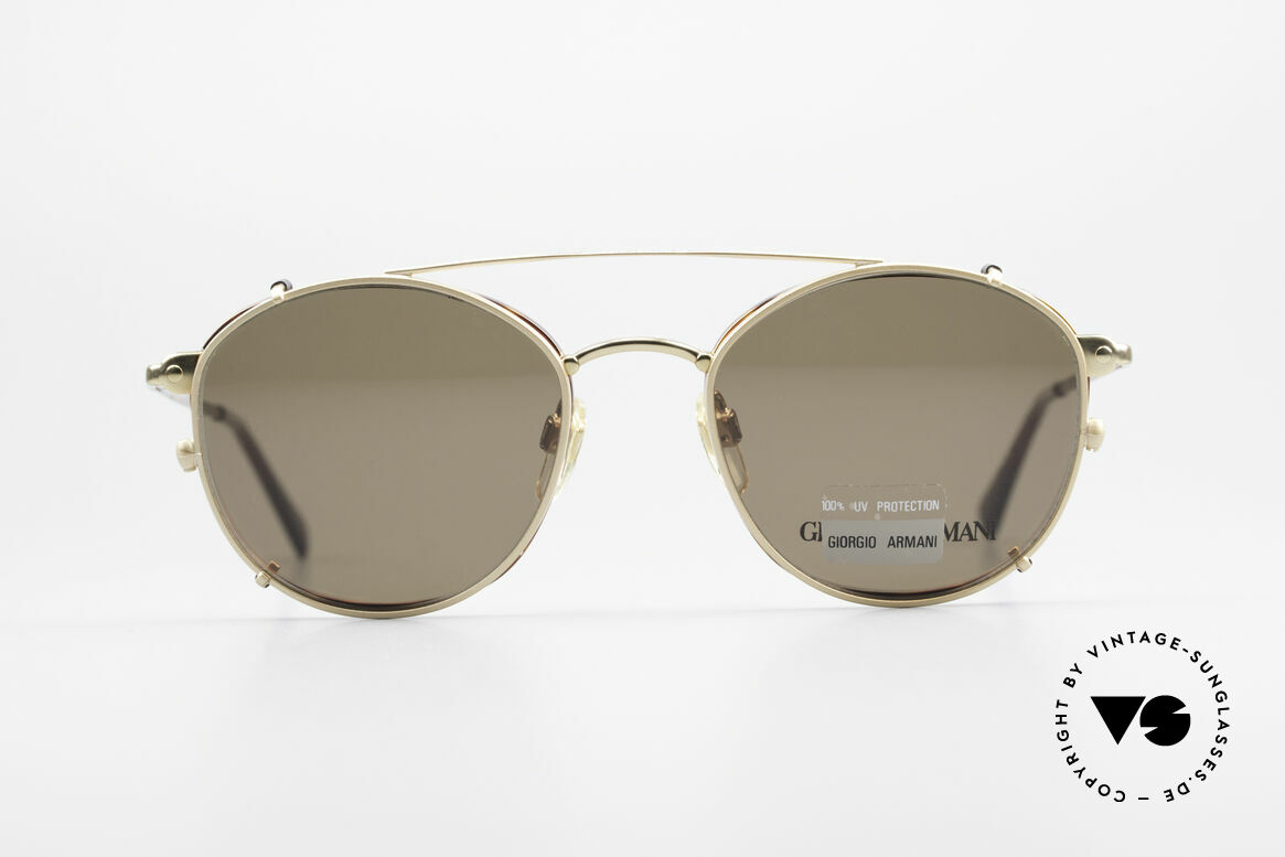 Giorgio Armani 168 Clip On 80er Vintage Brille