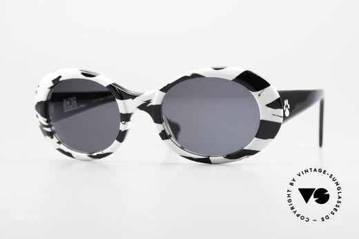 Alain Mikli D303 / 2109 101 Dalmatiner Sonnenbrille Details