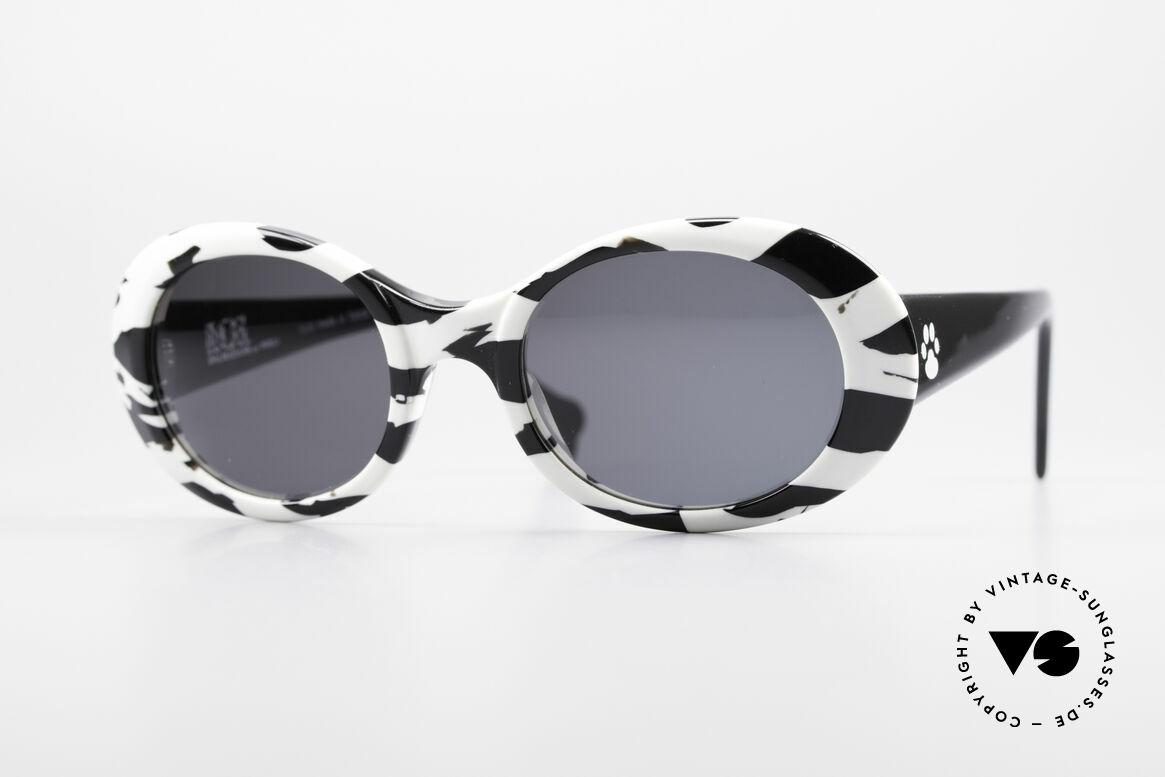 Alain Mikli D303 / 2109 101 Dalmatiner Sonnenbrille