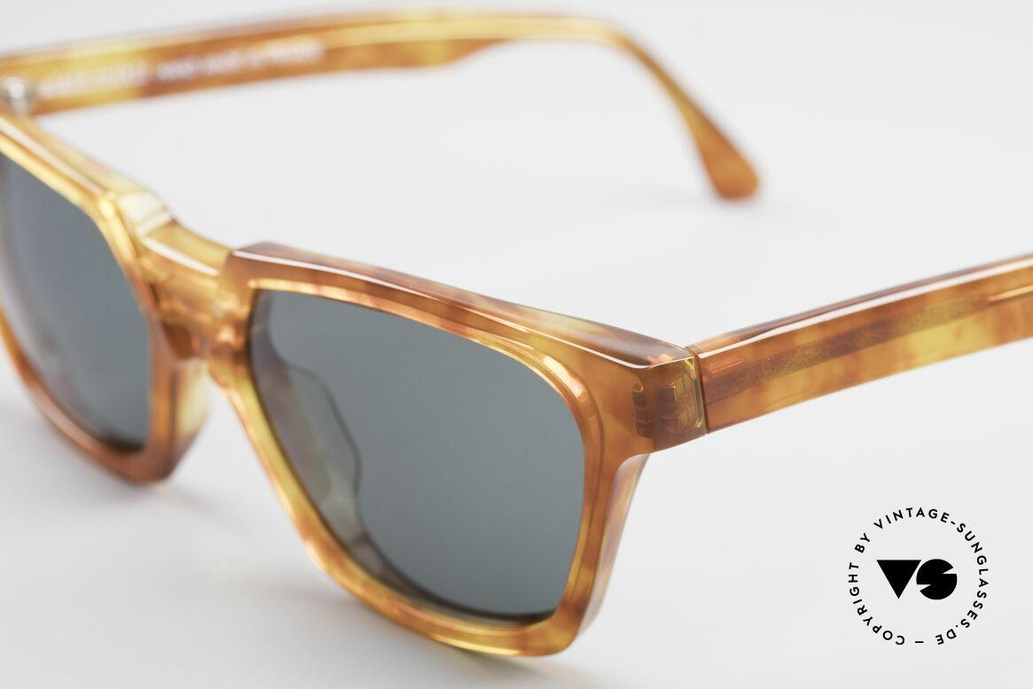 Alain Mikli 0145 / 033 Markante 80er Sonnenbrille, ungetragen (wie alle unsere 80er Alain Mikli Brillen), Passend für Herren und Damen