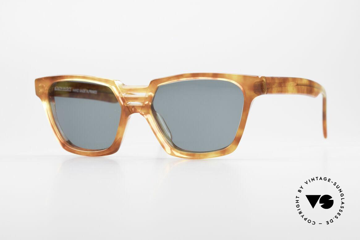 Alain Mikli 0145 / 033 Markante 80er Sonnenbrille, markante Form & sehr interessantes Rahmenmuster, Passend für Herren und Damen