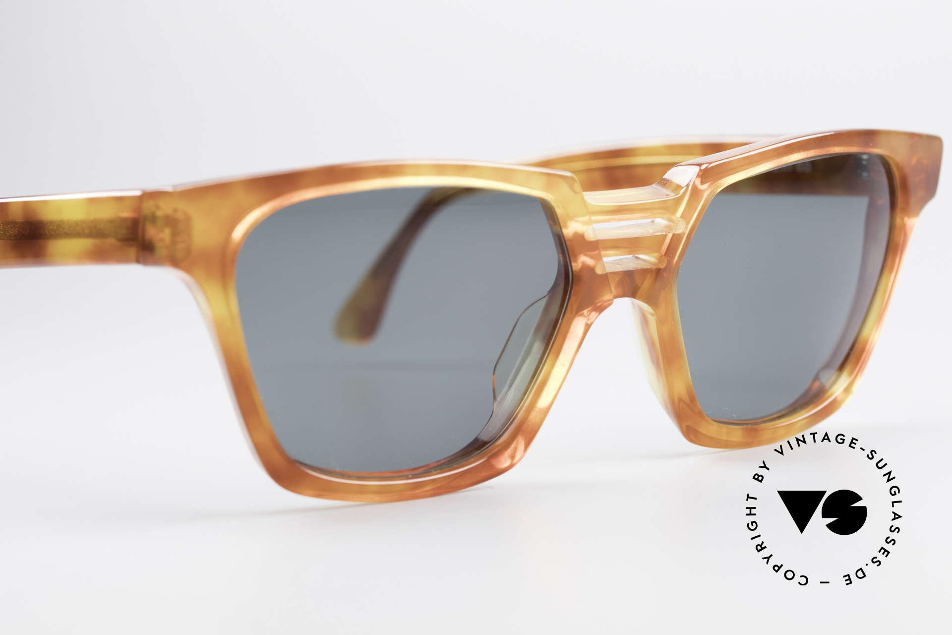Alain Mikli 0145 / 033 Markante 80er Sonnenbrille, KEINE Retrosonnenbrille; ein 30 Jahre altes Original, Passend für Herren und Damen