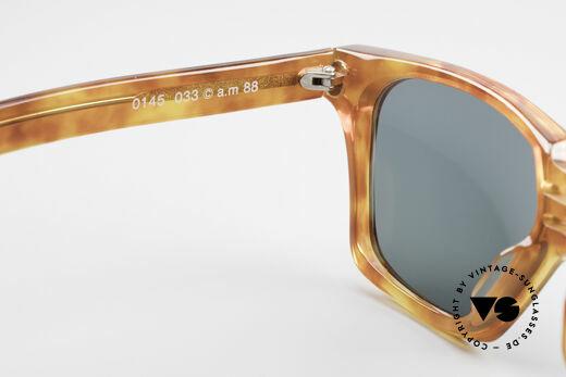 Alain Mikli 0145 / 033 Markante 80er Sonnenbrille, die Fassung wäre auch für optische Gläser geeignet, Passend für Herren und Damen