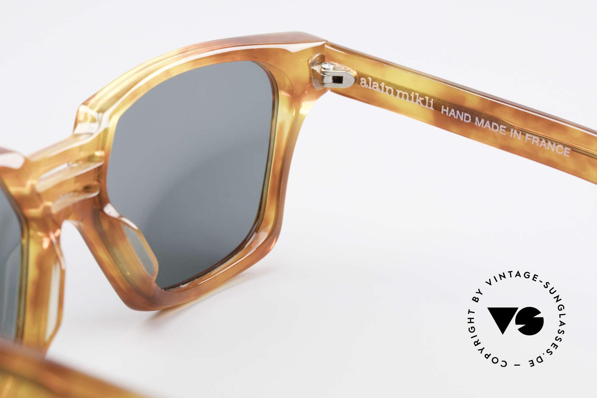 Alain Mikli 0145 / 033 Markante 80er Sonnenbrille, Größe: medium, Passend für Herren und Damen