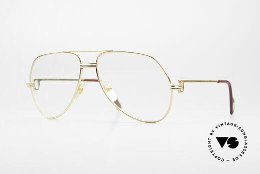 Cartier Vendome LC - M Hauchzeichen Cartier Gläser Details