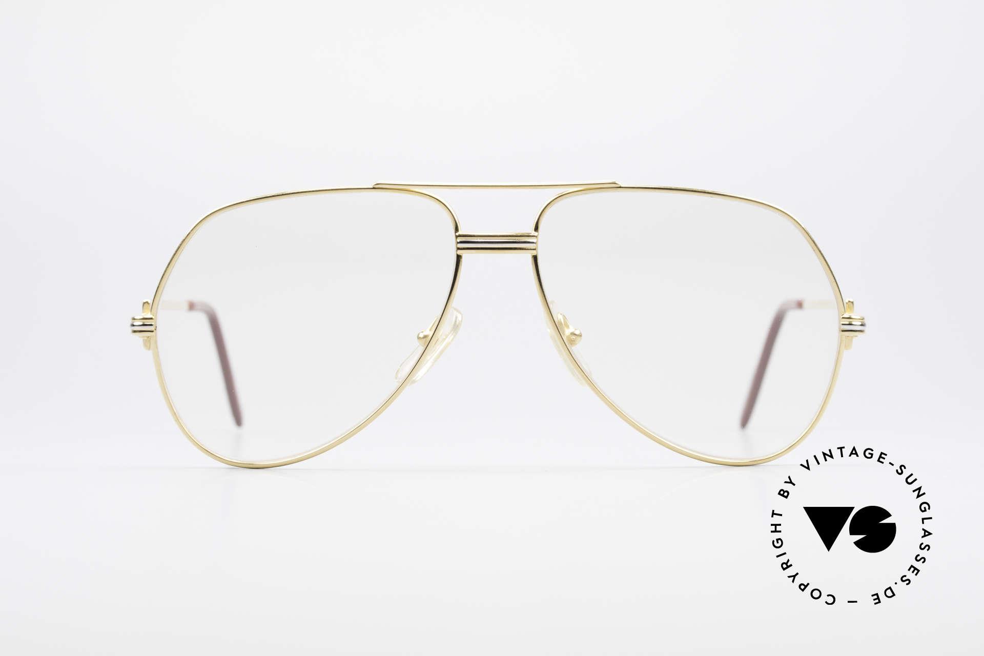 Cartier Vendome LC - M Hauchzeichen Cartier Gläser, wurde 1983 veröffentlicht und dann bis 1997 produziert, Passend für Herren und Damen
