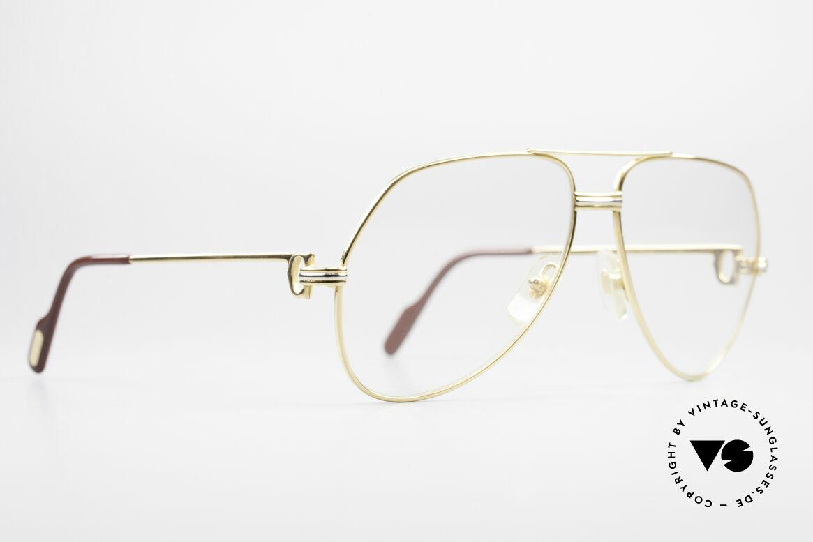 Cartier Vendome LC - M Hauchzeichen Cartier Gläser