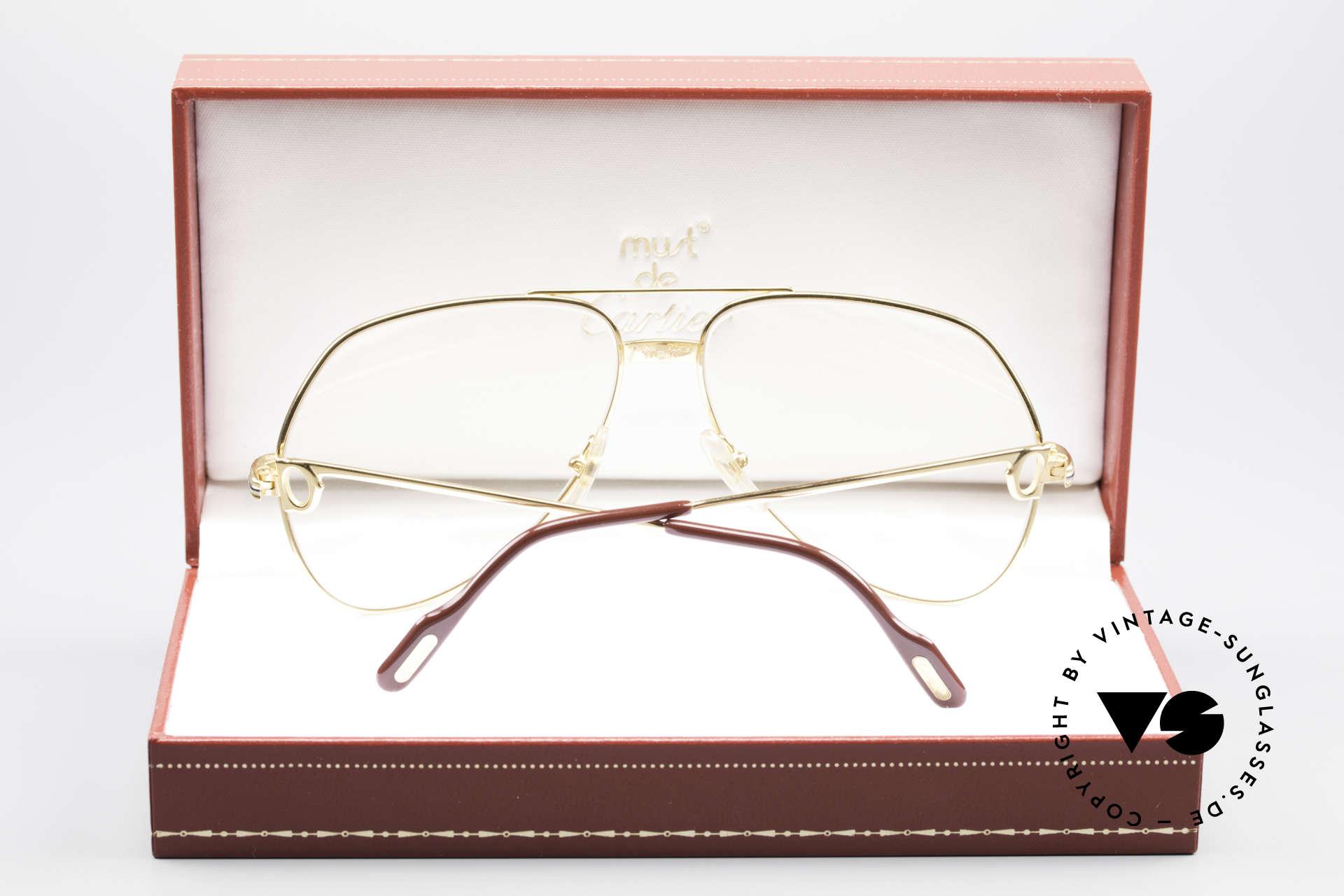 Cartier Vendome LC - M Hauchzeichen Cartier Gläser, 2.hand in neuwertigem Zustand mit original Verpackung, Passend für Herren und Damen