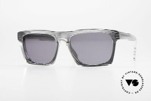 Alain Mikli 707 / 986 Unique Designer Sonnenbrille Details
