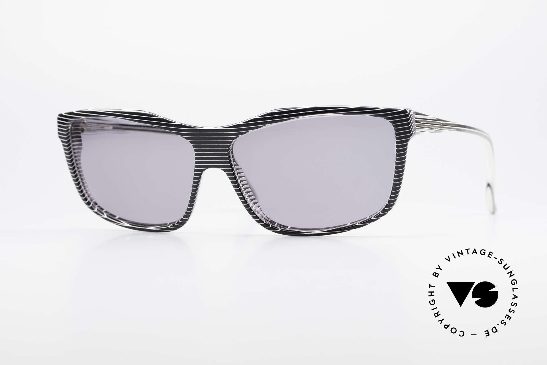 Alain Mikli 701 / 986 Rare Designer Sonnenbrille, ALAIN MIKLI vintage Designer-Sonnenbrille von 1988, Passend für Damen