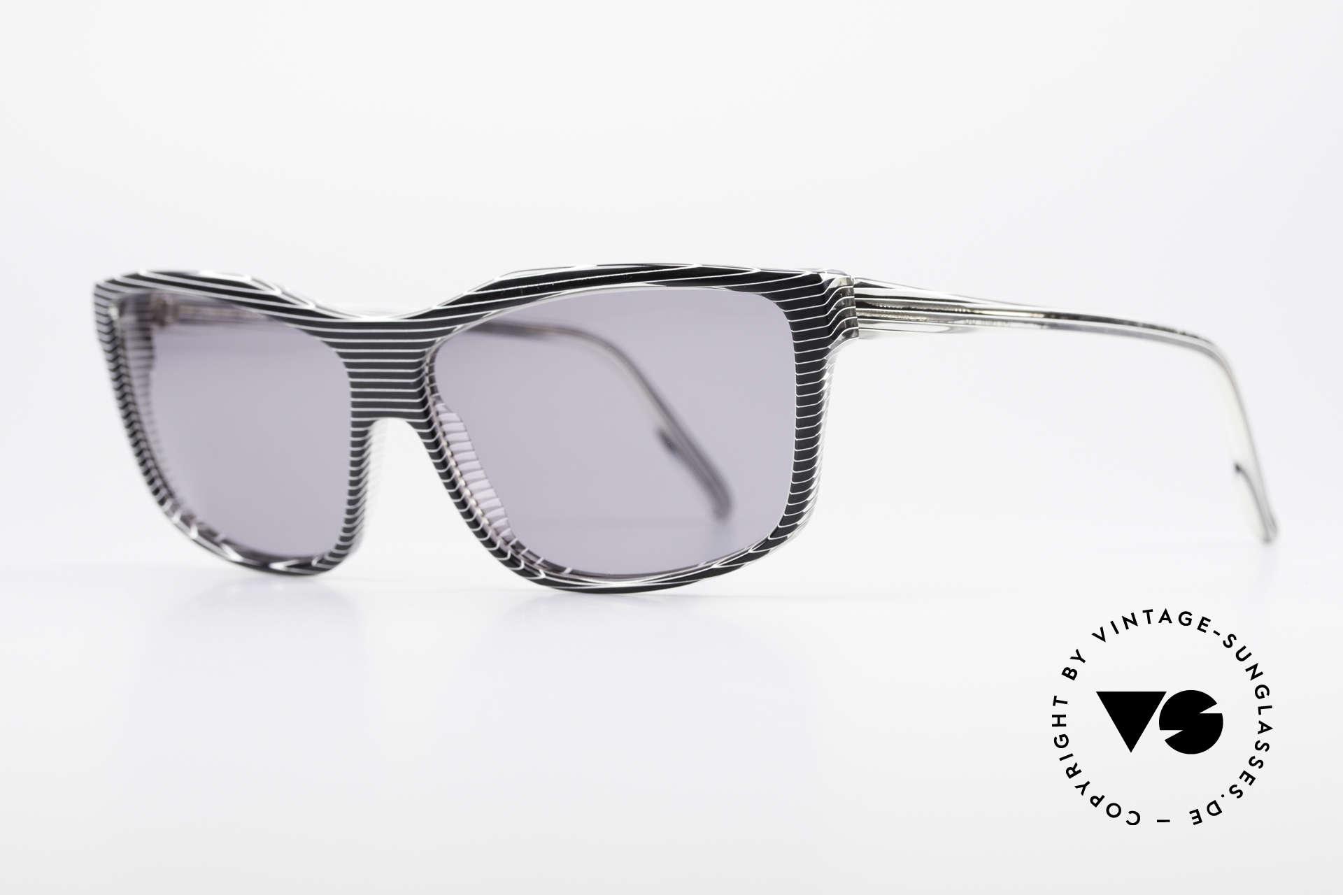 Alain Mikli 701 / 986 Rare Designer Sonnenbrille, grau getönte CR39 Sonnengläser (100% UV Protection), Passend für Damen