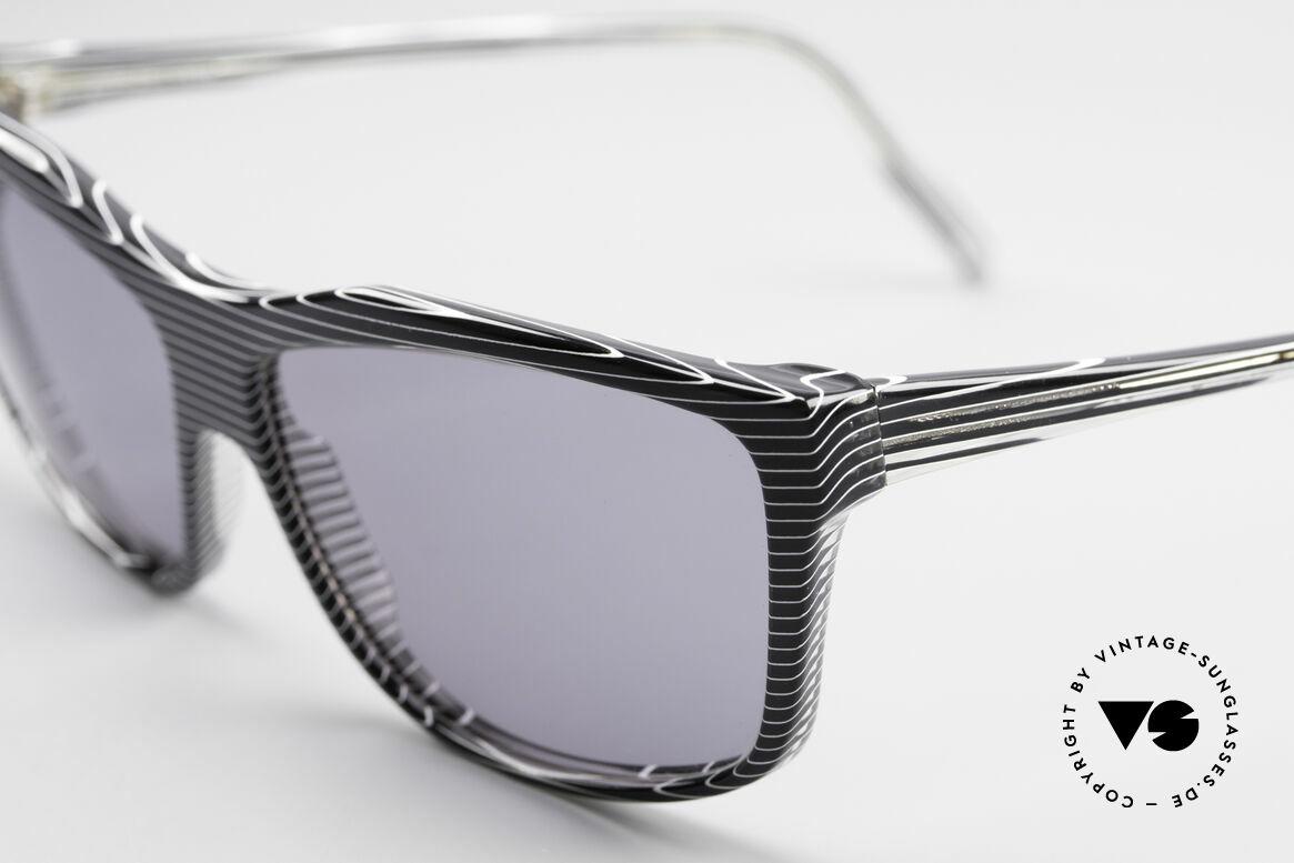 Alain Mikli 701 / 986 Rare Designer Sonnenbrille, ungetragen (wie alle unsere 1980er vintage-Klassiker), Passend für Damen