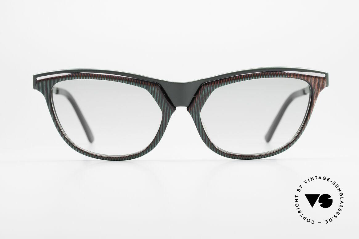 Alain Mikli 624 / 836 Hologramm Effekt Brille, ein Produkt vom berühmten Designer Alain Mikli, Passend für Damen