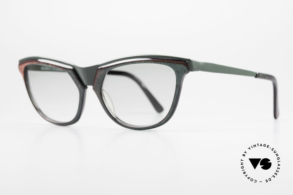 Alain Mikli 624 / 836 Hologramm Effekt Brille, geniale Rahmengestaltung mit Hologramm-Effekt, Passend für Damen