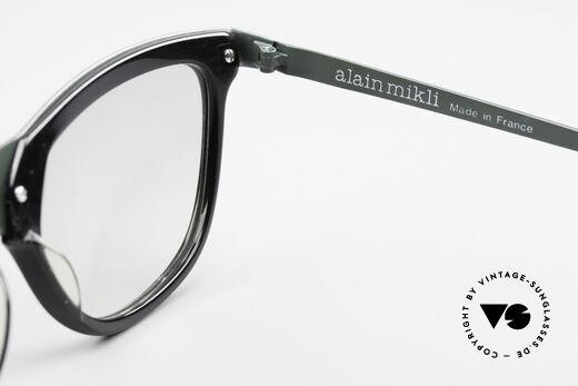 Alain Mikli 624 / 836 Hologramm Effekt Brille, ungetragene Rarität von 1989 & KEINE Retrobrille, Passend für Damen
