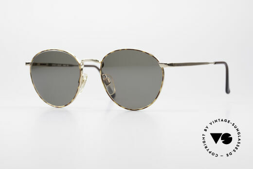Giorgio Armani 166 Panto Sonnenbrille Herren Details
