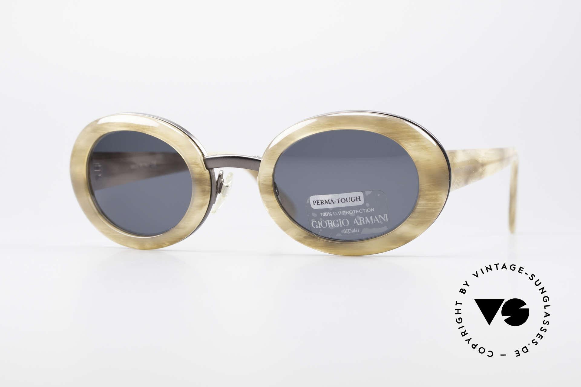 Giorgio Armani 945 Designer Sonnenbrille Damen, außergewöhnliche Giorgio Armani Designer-Sonnenbrille, Passend für Damen