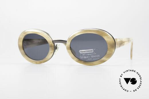 Giorgio Armani 945 Designer Sonnenbrille Damen Details