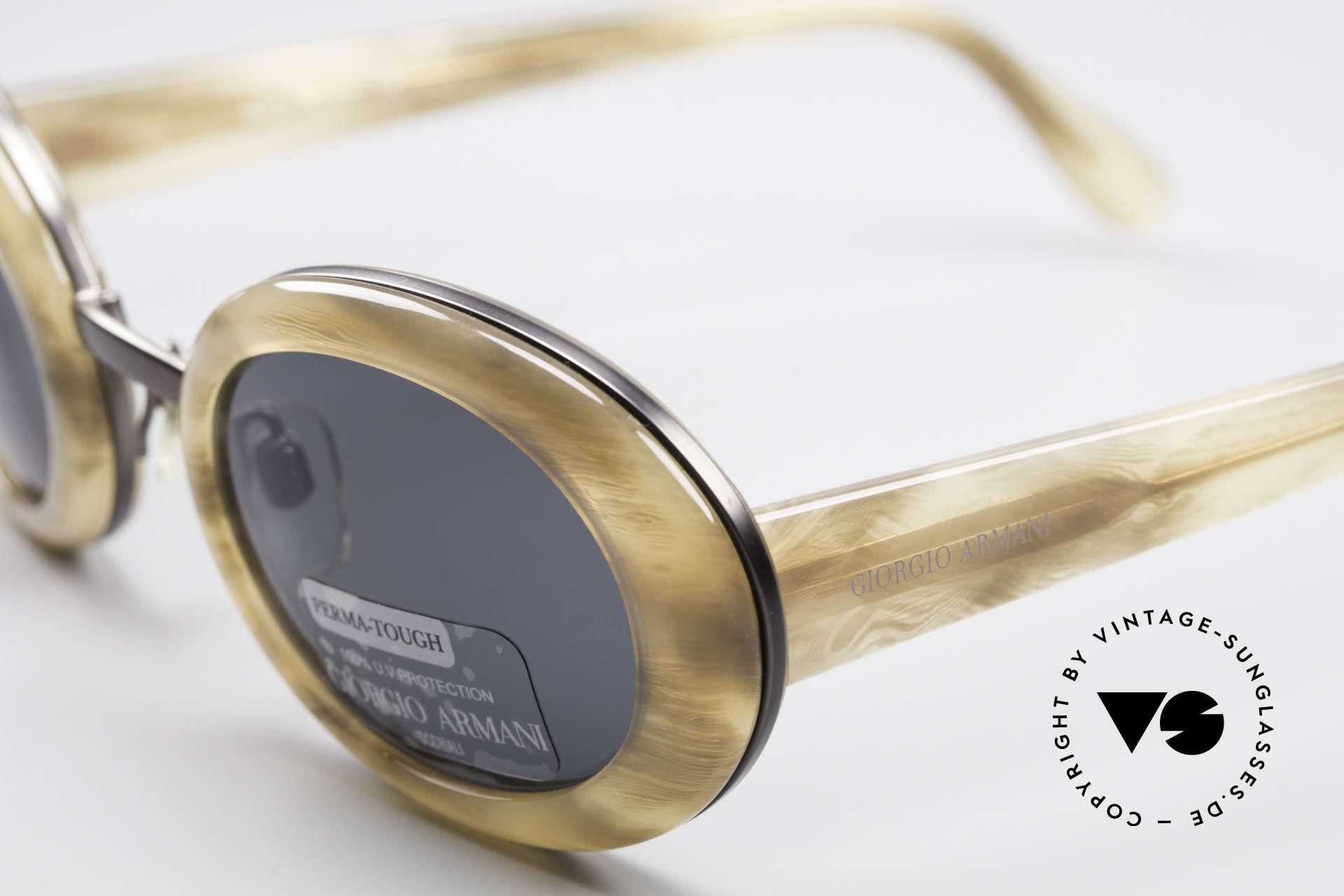 Giorgio Armani 945 Designer Sonnenbrille Damen, ungetragen (wie all unsere 1990er Jahre Designerstücke), Passend für Damen