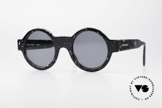 Giorgio Armani 903 Runde Designer Sonnenbrille Details
