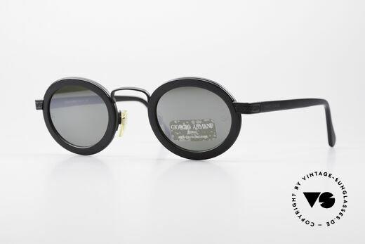 Giorgio Armani 631 Ovale Sonnenbrille Verspiegelt Details