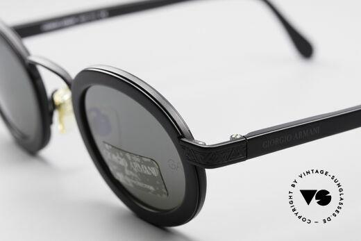 Giorgio Armani 631 Ovale Sonnenbrille Verspiegelt