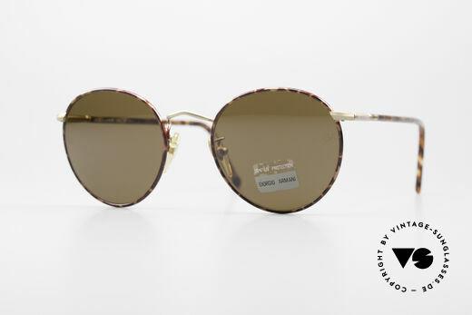 Giorgio Armani 639 No Retro Panto Sonnenbrille Details